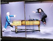 Mozart vs Skrillex Promotional Photograph