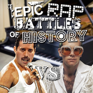 Elton John vs Freddie Mercury cw request cover