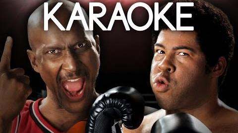 KARAOKE ♫ Michael Jordan vs Muhammad Ali. Epic Rap Battles of History