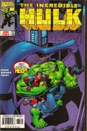 A hulk fantastic four comic cover