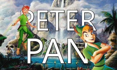 Peter Pan Title Card