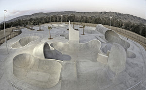 Skate Park Bowl Based On