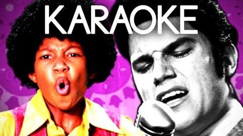 KARAOKE ♫ Michael Jackson vs Elvis Presley. Epic Rap Battles of History