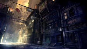 Gotham City Arkham City Based On