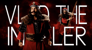 Vlad the Impaler Title Card