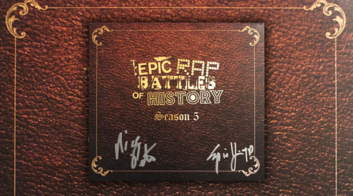 Epic Rap Battles of History Season 5 CD