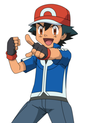 Ash Ketchum Based On