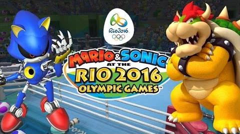 Mario and Sonic at the Rio 2016 Olympic Games Boxing (Wii U) - (Metal Sonic vs Bowser)-2