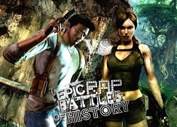 Lara Croft And Nathan Drake: User Blog:J1coupe/Lara Croft Vs Nathan Drake. Epic Rap