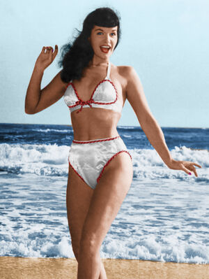 Bettie Page Based On