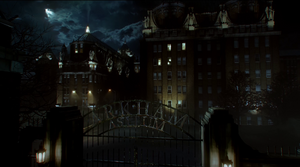 Gotham City Arkham Asylum Based On