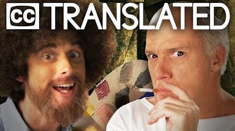 TRANSLATED Bob Ross vs Pablo Picasso. Epic Rap Battles of History