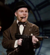 Winston Churchill and his Tommy Gun