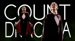 Count Dracula Title Card