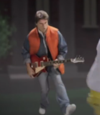 Image Marty McFly Guitar Solo Png Epic Rap Battles Of - Musical history guitar solo