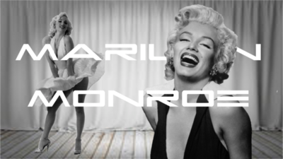 Marilyn Monroe Title Card AlanRB