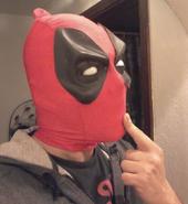 Dragan Radic in Deadpool Mask