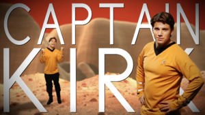 Captain Kirk Title Card