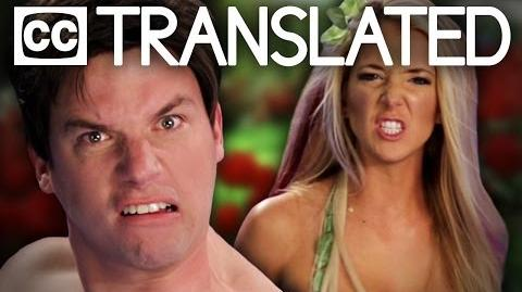 TRANSLATED Adam vs Eve. Epic Rap Battles of History