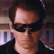 The Terminator In Battle