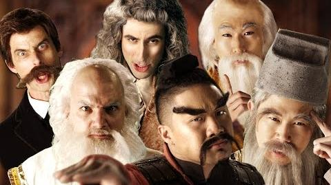 Eastern Philosophers vs Western Philosophers. Epic Rap Battles of History Season 4