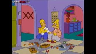 Simpsons - Crying in the corner