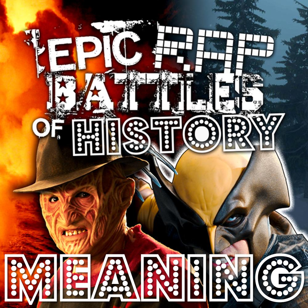 Freddy Krueger vs Wolverine/Rap Meanings | Epic Rap Battles