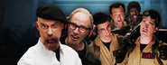 Ghostbusters vs Mythbusters Banner