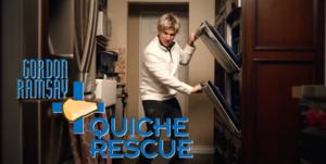 Gordon Ramsay Quiche Rescue