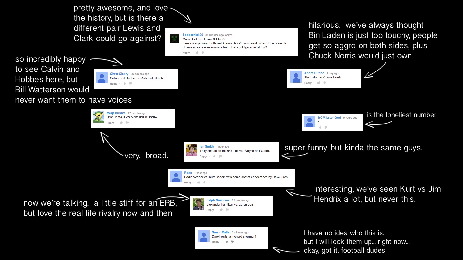 Hints | Epic Rap Battles of History Wiki | FANDOM powered by Wikia