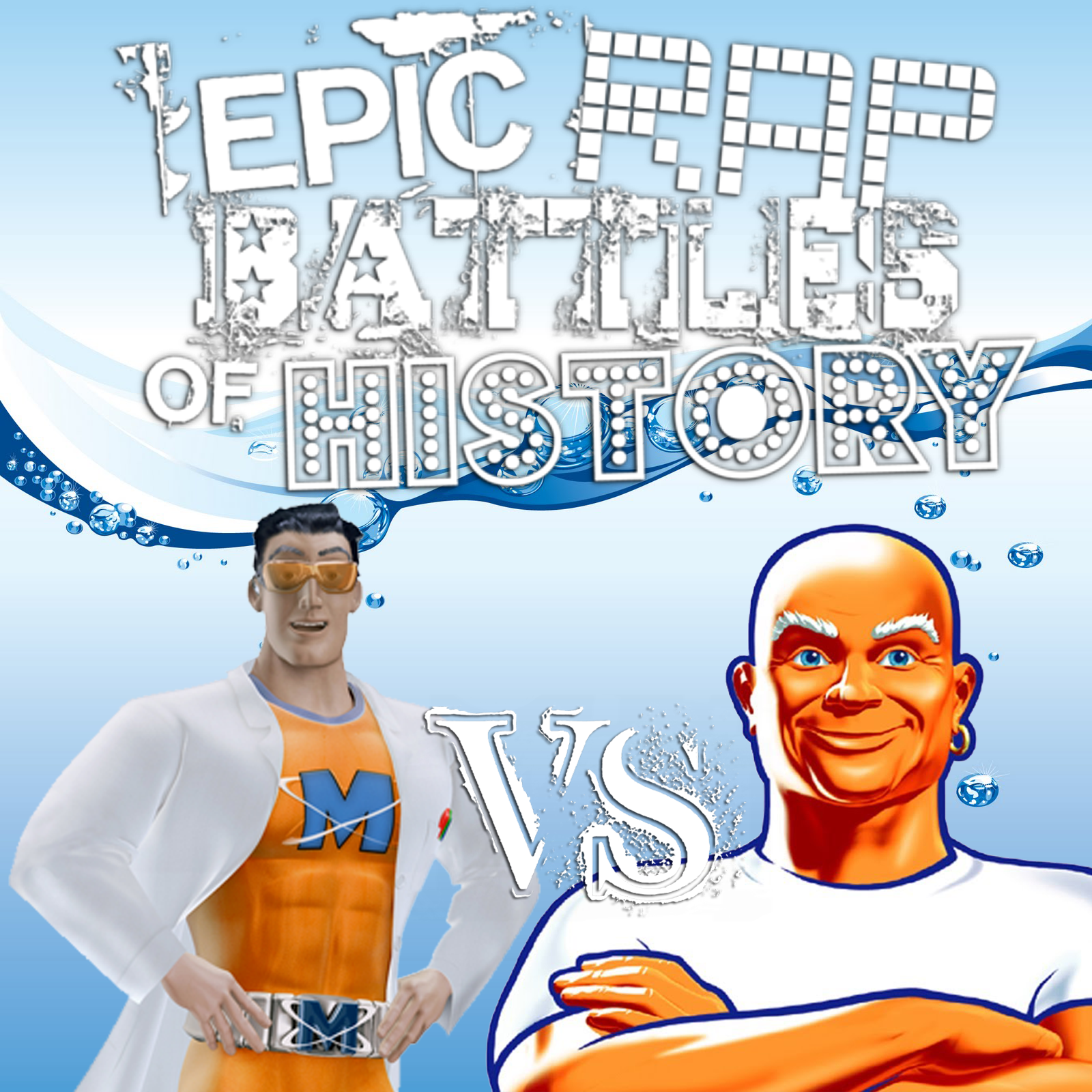 image mr muscle vs mr clean cover png epic rap battles of