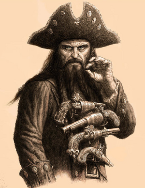 Blackbeard Based On