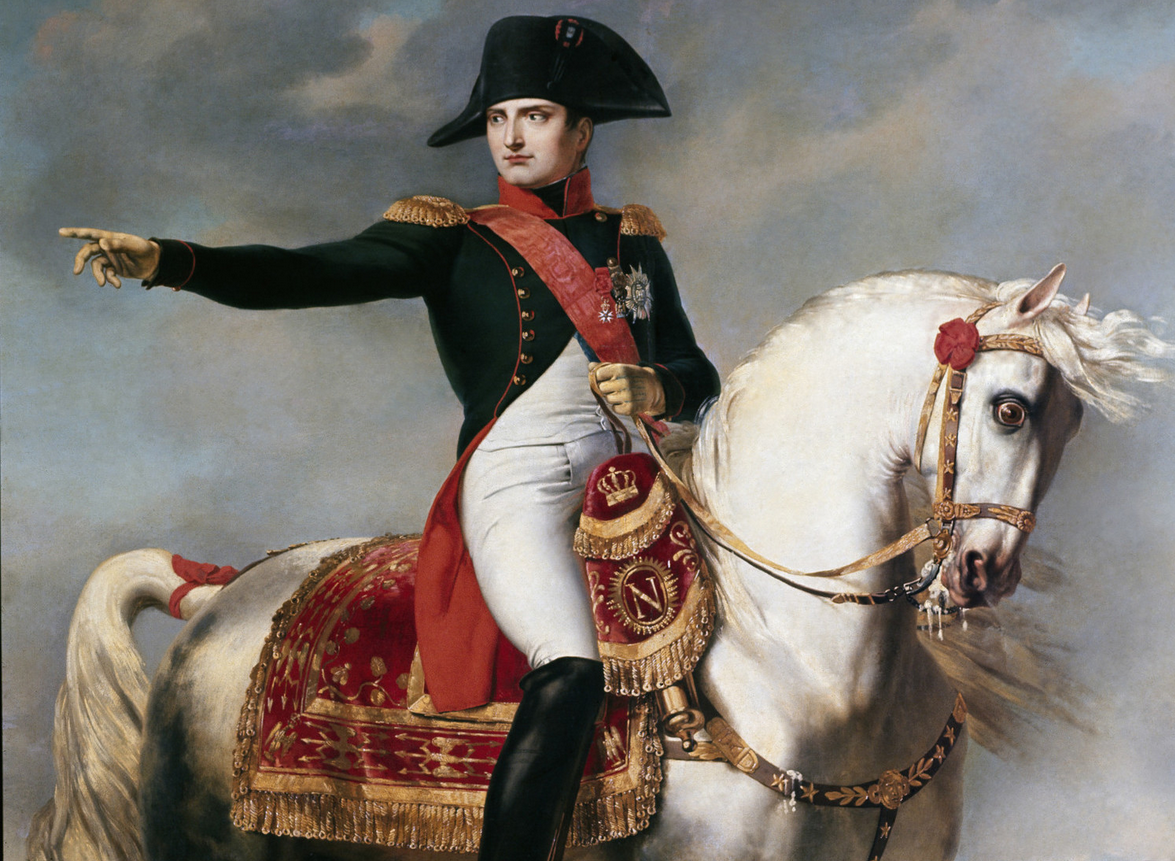 Image result for napoleon bonaparte on horse