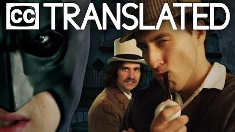 TRANSLATED Batman vs Sherlock Holmes. Epic Rap Battles of History