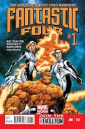 A Fantastic Four Comic Cover