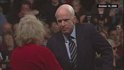 Flashback McCain tells supporter Obama is 'a decent...