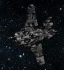 Space Trash Ship - 8-24-2013 - by HandsomeDan