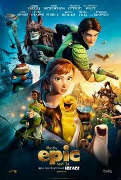 Epic (2013 film) theatrical poster