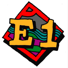E1 logo
