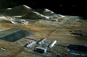 Lunar base concept drawing s78 23252
