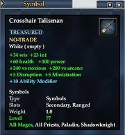 Crosshair Talisman