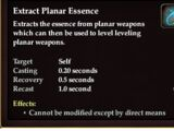 Conservation of Planar Energy