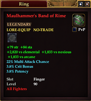 Maulhammer's Band of Rime