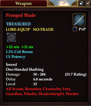 Pronged Blade