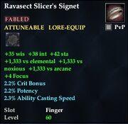 Ravasect Slicer's Signet