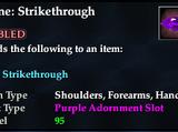 Rune: Strikethrough