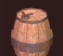 Upright Oak Keg
