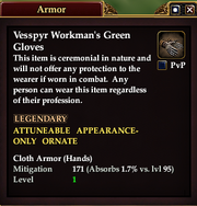 Vesspyr Workman's Green Gloves