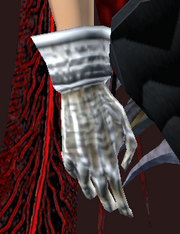 Adept's Gloves of Knowledge (Equipped)