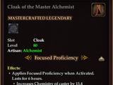 Cloak of the Master Alchemist